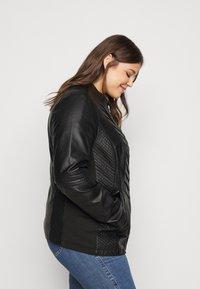 Evans - JACKET - Faux leather jacket - black - 3