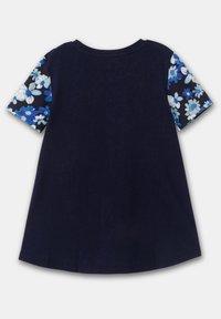 Desigual - OPORTO - Print T-shirt - blue - 1