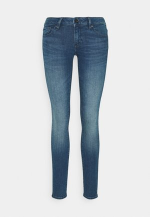 3301 LOW SUPER SKINNY - Jeans Skinny Fit - faded neptune blue