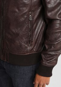 Gipsy - GBFALK  - Leather jacket - dark brown - 4