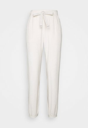 SHERPA GARDEN - Tracksuit bottoms - natural