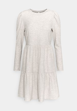 ONLNELLA PUFF DRESS - Jumper dress - pumice stone