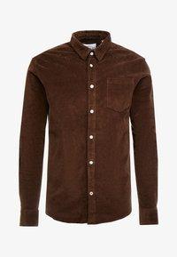 Kronstadt - JOHAN - Camisa - chocolate brown - 4