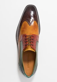 Melvin & Hamilton - JEFF 14 - Lace-ups - wood/yellow/dark winter orange/ultra green/turquoise/rich tan/pop yellow - 1