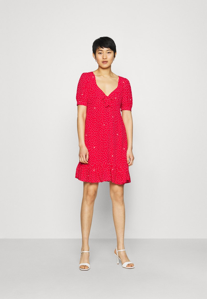 Liu Jo Jeans - ABITO - Day dress - red pois