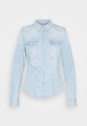 SLIM SHIRT - Košile - light-blue denim
