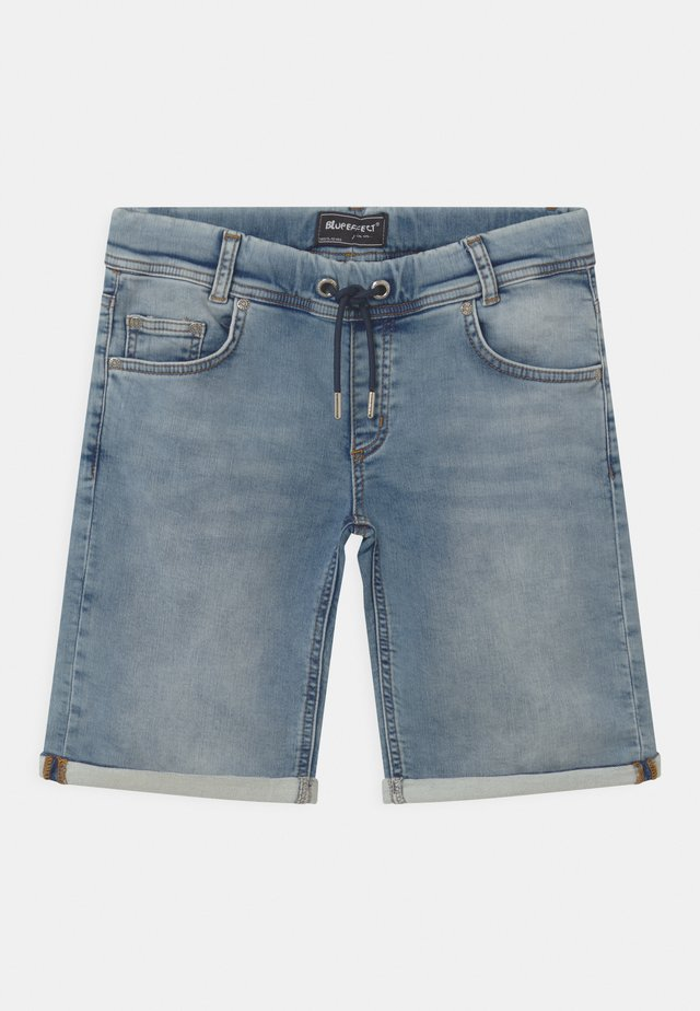 BOYS - Denim shorts - light blue
