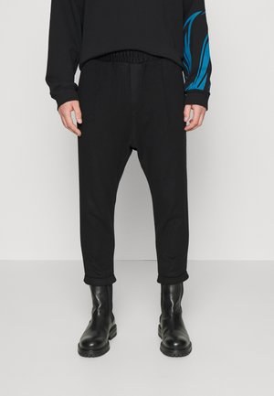 LOOSE PANTS UNISEX - Trousers - black