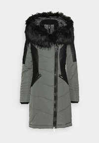 ONLLINETTE HOOD COAT - Cappotto invernale - dark shadow