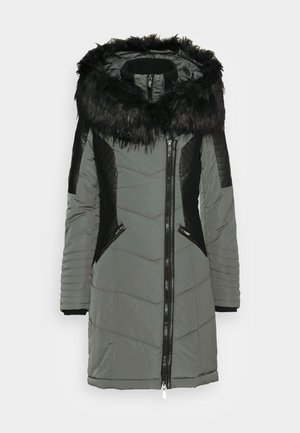 ONLLINETTE HOOD COAT - Wintermantel - dark shadow