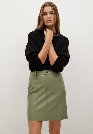 OLIVIA - A-line skirt - verde