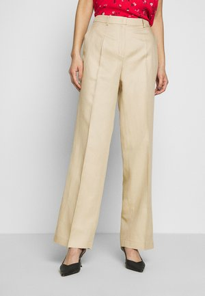 TROUSER - Trousers - warm sand