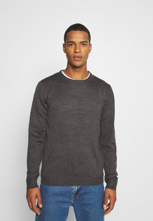 CREW - Jumper - dark grey melange