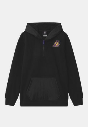 NBA LA LAKERS ON FIRE ZIP UNISEX - Klubové oblečení - black