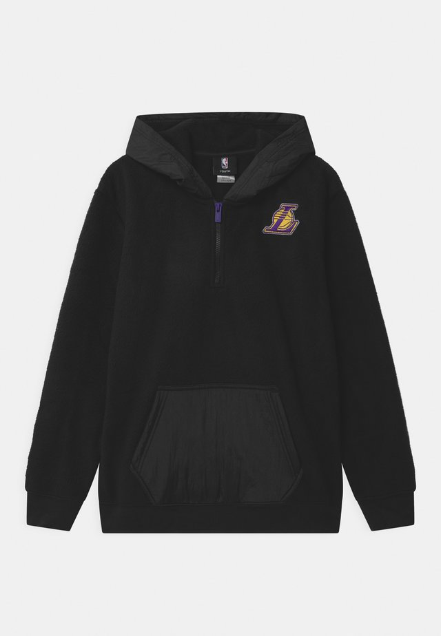 NBA LA LAKERS ON FIRE ZIP UNISEX - Klubbklær - black