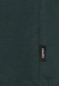 Esprit - Basic T-shirt - dark green - 2