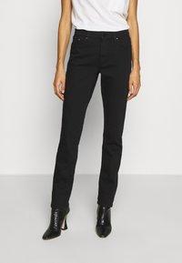 s.Oliver - LANG - Slim fit jeans - black - 0