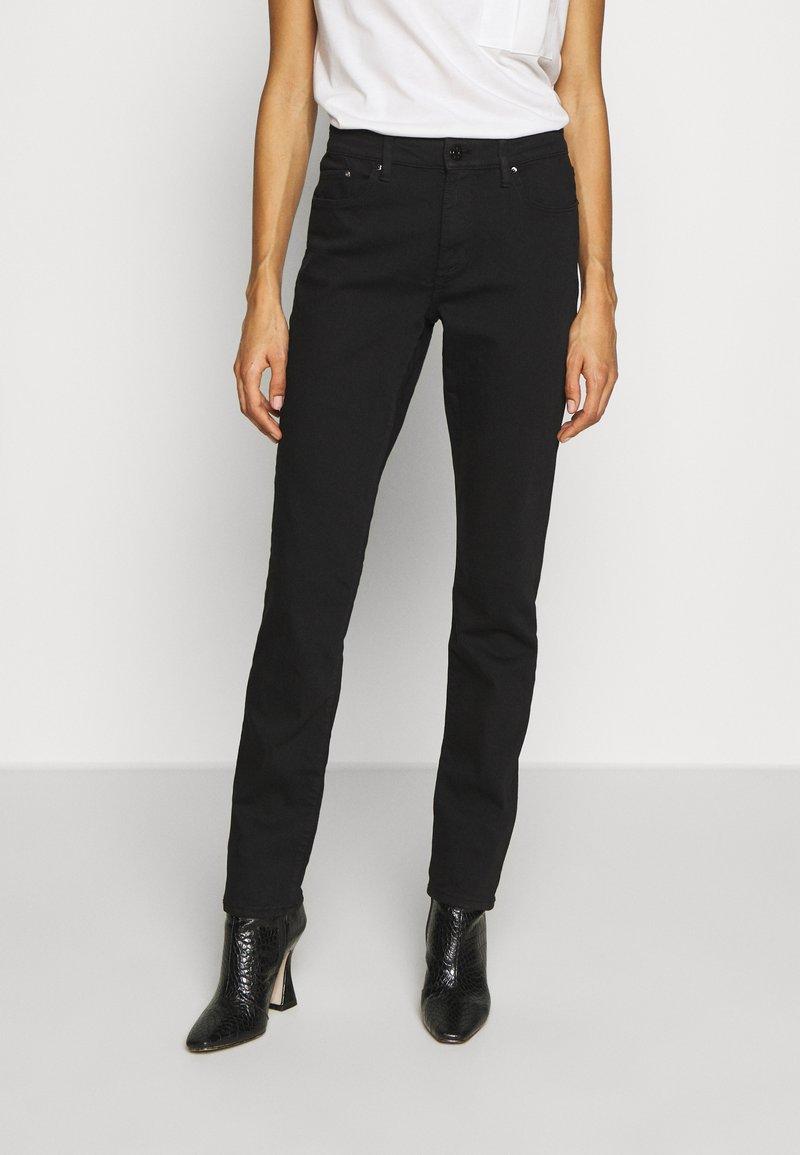 s.Oliver - LANG - Slim fit jeans - black