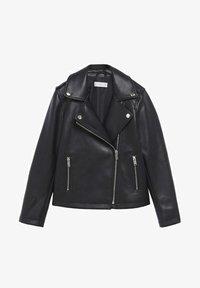 Mango - Faux leather jacket - schwarz - 0