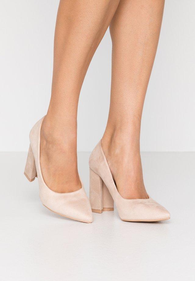 NEHA - Zapatos altos - nude