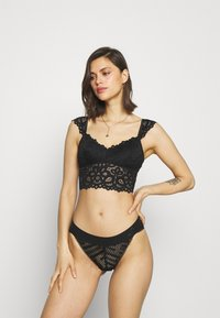 Gilly Hicks - CAPSLEEVE - Bustier - casual black - 1