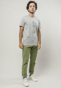 Brava Fabrics - T-shirt print - grey - 1