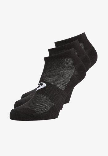 PED SOCK 3 PACK - Calcetines tobilleros - black