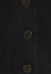 Object Petite - OBJMARI KNIT CARDIGAN  - Cardigan - black - 2