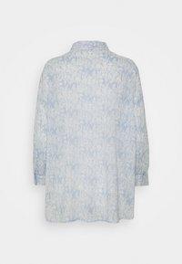 Opus - FILMA GARDEN - Button-down blouse - silent blue - 1