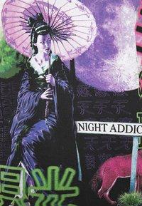 Night Addict - STREET - T-shirt med print - black - 5