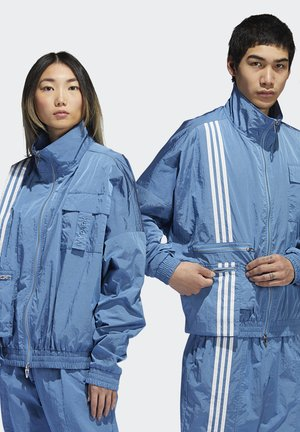 IVY PARK NYLON TRACK JACKET (ALL GENDER) - Training jacket - light blue