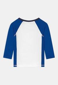 Polo Ralph Lauren - RASHGUARD SWIMWEAR COVERUP - Surfshirt - white/pacific royal - 1