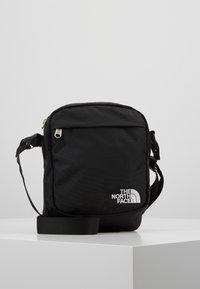 The North Face - SHOULDER BAG - Axelremsväska - black/white - 0