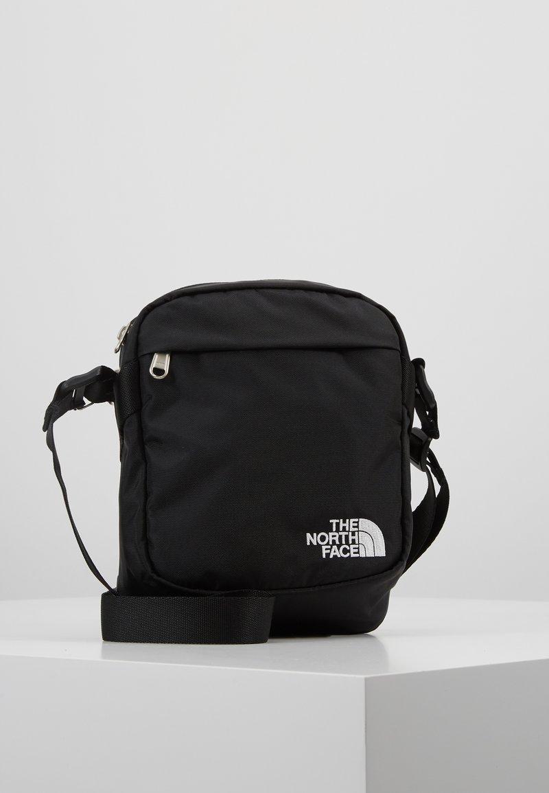 The North Face - SHOULDER BAG - Axelremsväska - black/white
