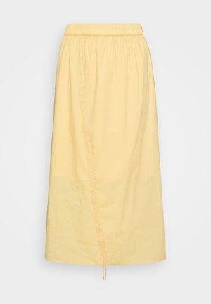DINAH SKIRT - Áčková sukně - yellow
