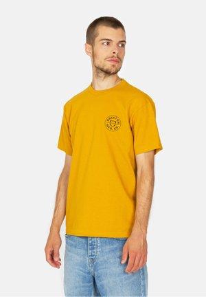 CREST II - T-shirt print - gold coloured