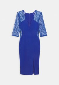 WAL G. - MAISIE SLEEVE MIDI DRESS - Juhlamekko - electric blue - 4