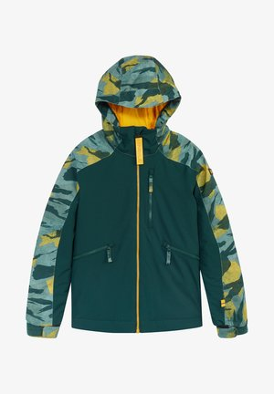 Snowboard jacket - green aop