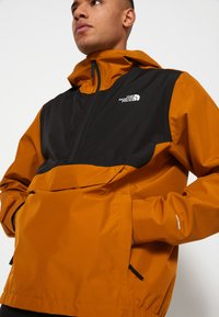 The North Face - MEN'S WATERPROOF FANORAK - Windbreaker - timber tan - 7