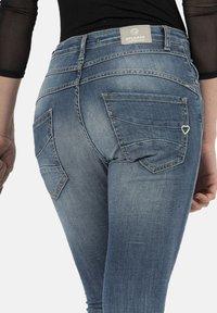 PLEASE - Jeans Skinny Fit - bleu - 3