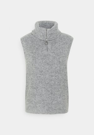 OBJRACHEL  - Pullover - light grey melange