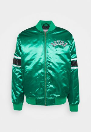 NBA BOSTON CELTICS HEAVYWEIGHT JACKET - Artykuły klubowe - green