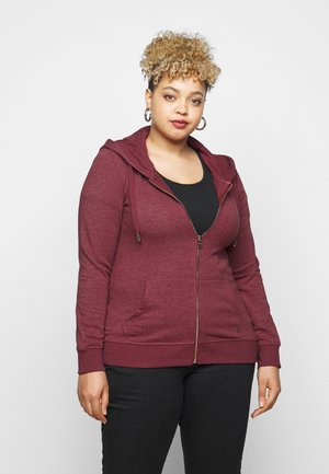 CARMANUCA HOOD - Zip-up hoodie - pomegranate melange