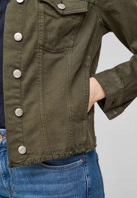 s.Oliver - Denim jacket - khaki - 4