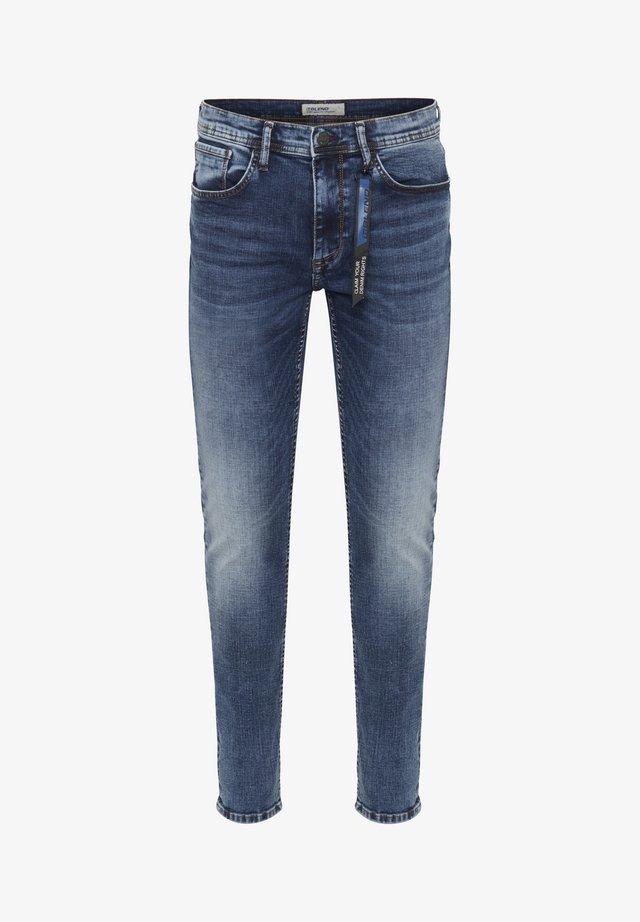NOOS - Jeans slim fit - denim middle blue