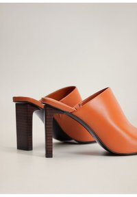 Mango - TON - High heeled sandals - orange - 5
