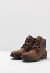 Call it Spring - BRERARI - Lace-up ankle boots - cognac - 2