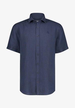 Shirt - dark-blue plain