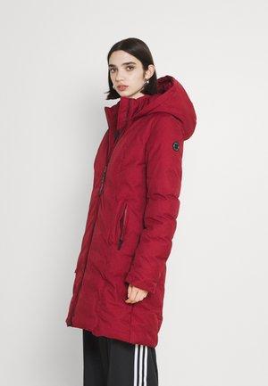 AMARI - Winter coat - wine red