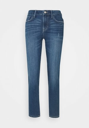 JDYJIHANE LIFE - Straight leg jeans - medium blue denim
